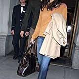 Pairing an unexpected color combo in NYC in '05.