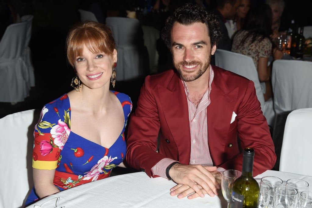 Jessica Chastain brought her boyfriend, Gian Luca Passi de Preposulo, to the Ischia Global Film and Music Fest in Italy on Saturday.