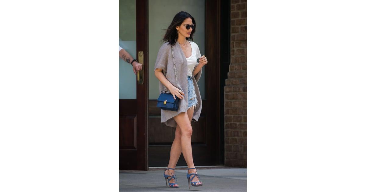 2bdb857af9 Olivia s Blue Suede Shoes