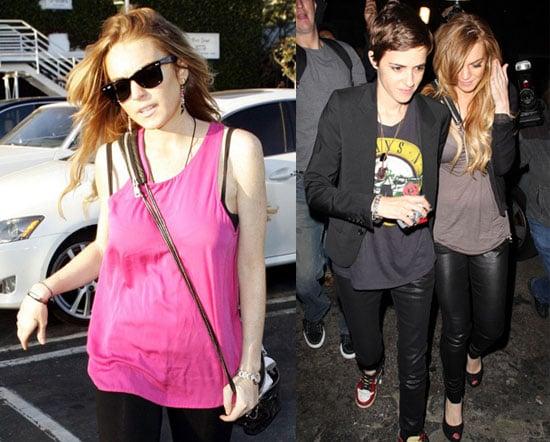 Lindsay and Samantha