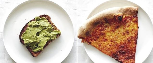 Instagram Food Calorie Comparisons