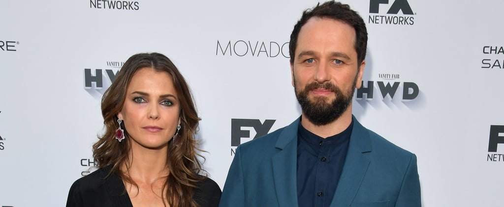 Keri Russell and Matthew Rhys Step Out at a Pre-Emmys Bash Ahead of Their Big Night