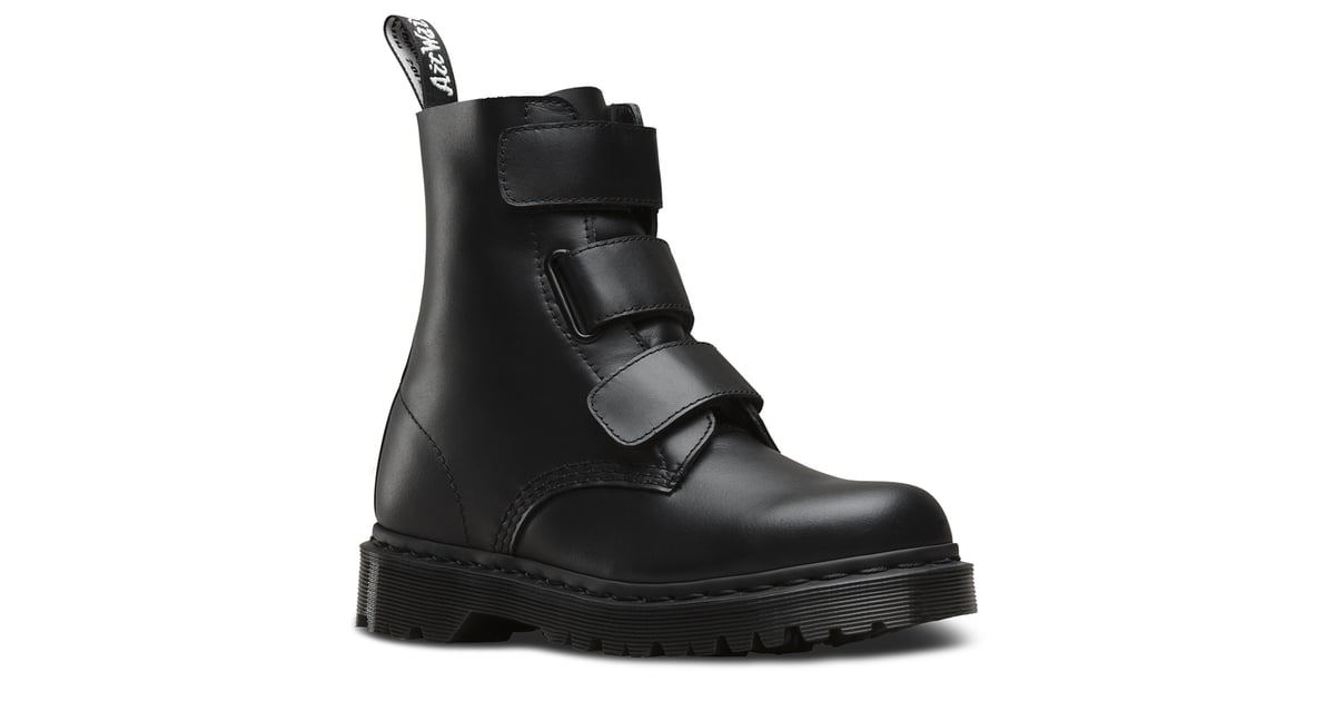 hot-selling professional huge discount hot products Dr. Martens Coralia Boots in Black Venice ($140) | Leave It ...