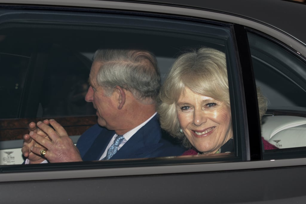 Prince Charles and Camilla, Duchess of Cornwall, arrived at Buckingham Palace.
