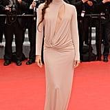 Eva Longoria at the Foxcatcher Premiere