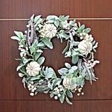 Natural Grapevine Base Pumpkin Wreath