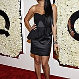 Kimora Lee attended QVC's Buzz on the Red Carpet party and broadcast at the Beverly Hills Four Seasons Hotel.