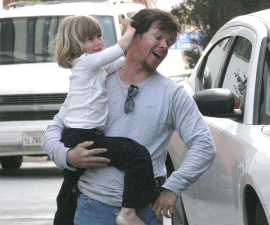 Photo of Mark and Ella Wahlberg Out in LA