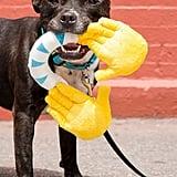 Bark Hallechewjah! Emoji Hands Dog Toy