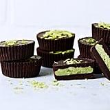 Gluten-Free: Dark Chocolate Matcha Coconut Butter Cups