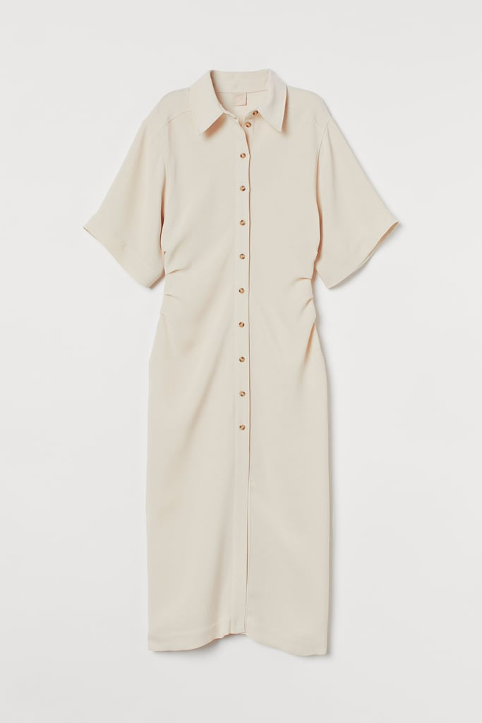 Calf-Length Dress