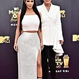 Kim Kardashian at 2018 MTV Movie and TV Awards Pictures