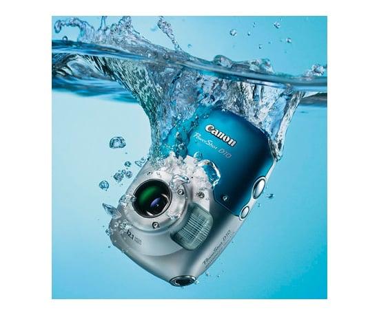 The Canon PowerShot D10