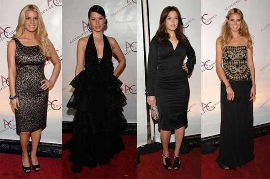 Ladies Go Black and Gold for the ACE Awards