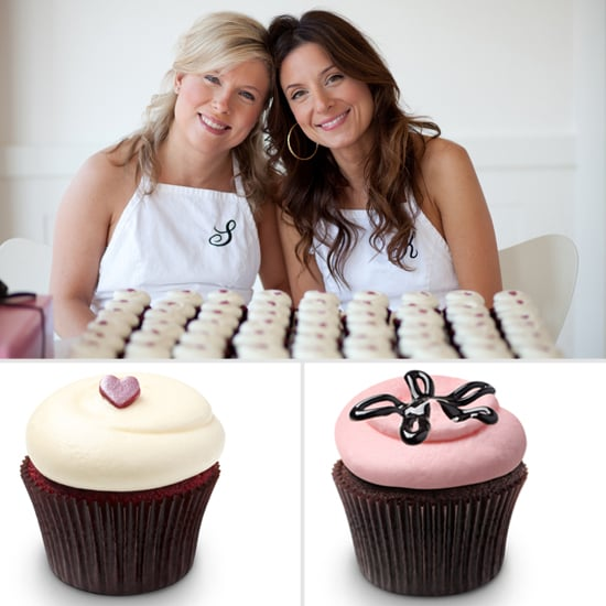georgetown cupcake chocolate ganache cupcake recipe popsugar moms - Woman Decorating Cupcakes