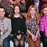 Juliette Binoche, Mia Goth, Clémence Poésy, and Sigrid Bouaziz at Chloé Fall 2019