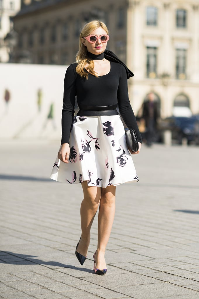 A modern-day riff on poodle skirts. Source: Le 21ème | Adam Katz Sinding
