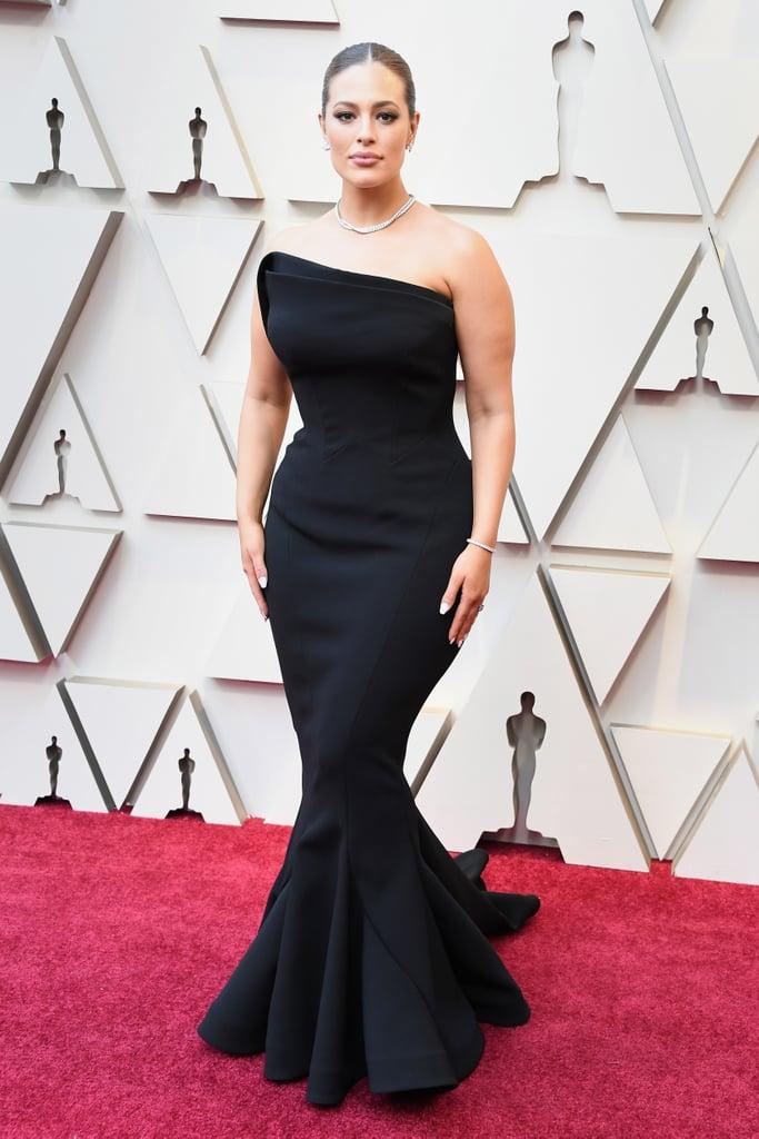 Ashley Graham Zac Posen Dress at the 2019 Oscars