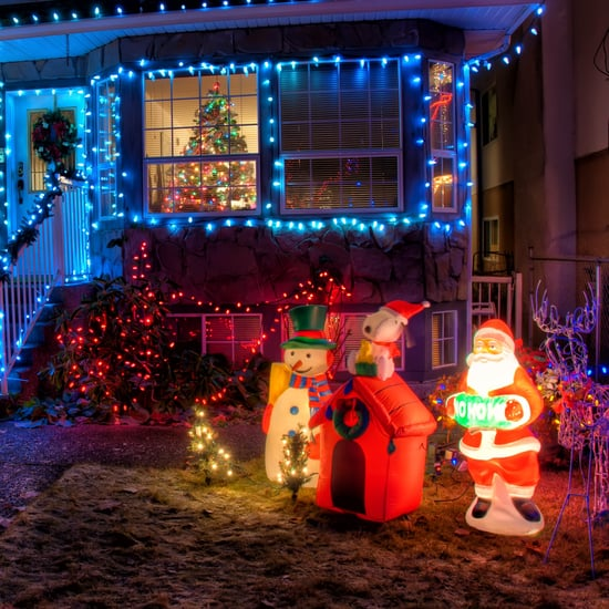 Family Told to Take Down Christmas Decorations Up Too Early