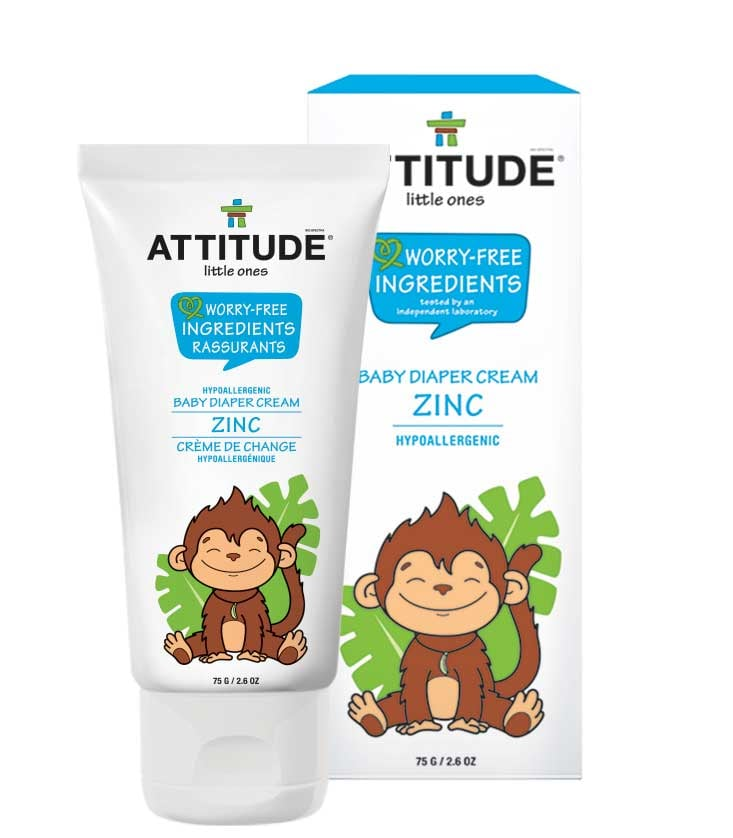 Attitude Baby Diaper Cream, Fragrance Free