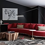 101 Dalmatians-Inspired Eclectic-Style Living Room