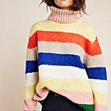 Gloria Striped Turtleneck Sweater