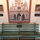 Visit Walt's special bench for inspiration.