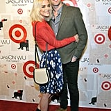 Jamie King and her husband Kyle Newman attended the launch of Jason Wu for Target.