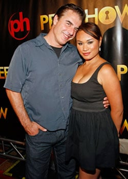 Photos of Chris Noth With Fiance, Chris Noth Is Engaged, Sex and the City Mr Big Chris Noth is Engaged to Tara Wilson