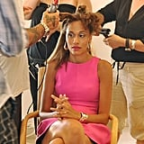 Angelea on America's Next Top Model.  Photo courtesy of The CW