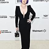Kelly Osbourne at the 2020 Elton John AIDS Foundation Academy Oscars Party