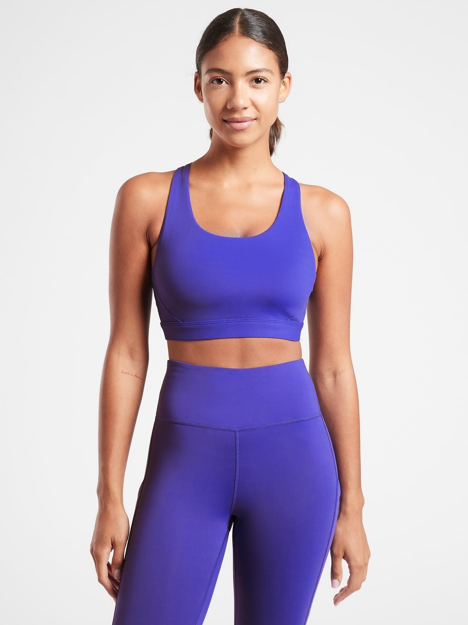 Strength Training Crossback Strappy Bra Medium Support Activewear for Yoga Pilate Akalnny Sport Bra for Women