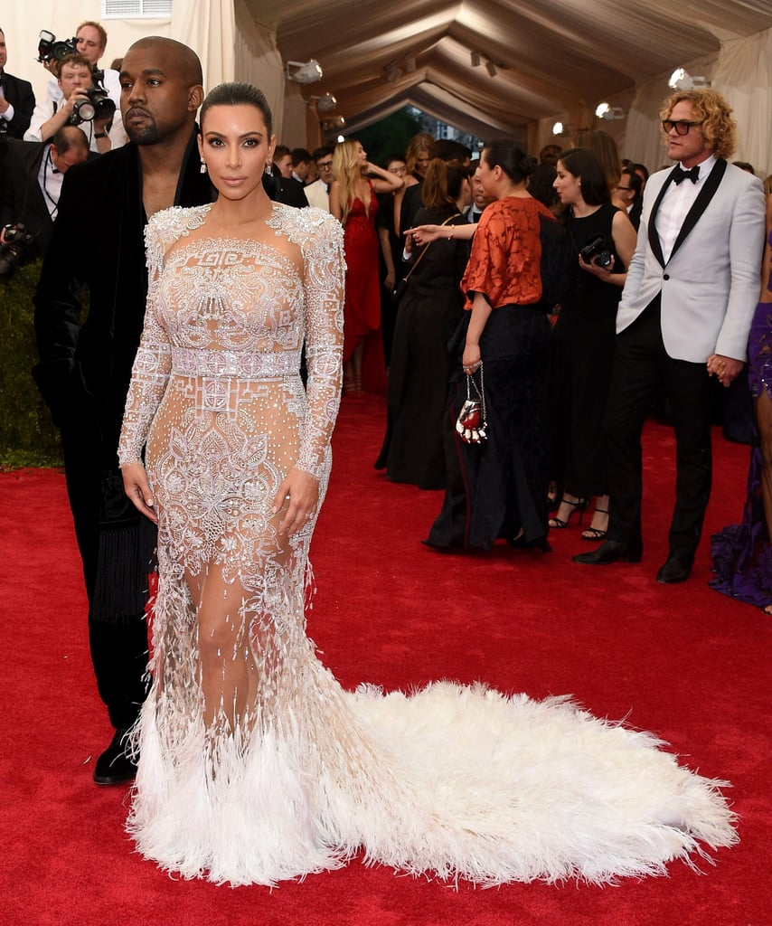 Kim Kardashian at the 2015 Met Gala