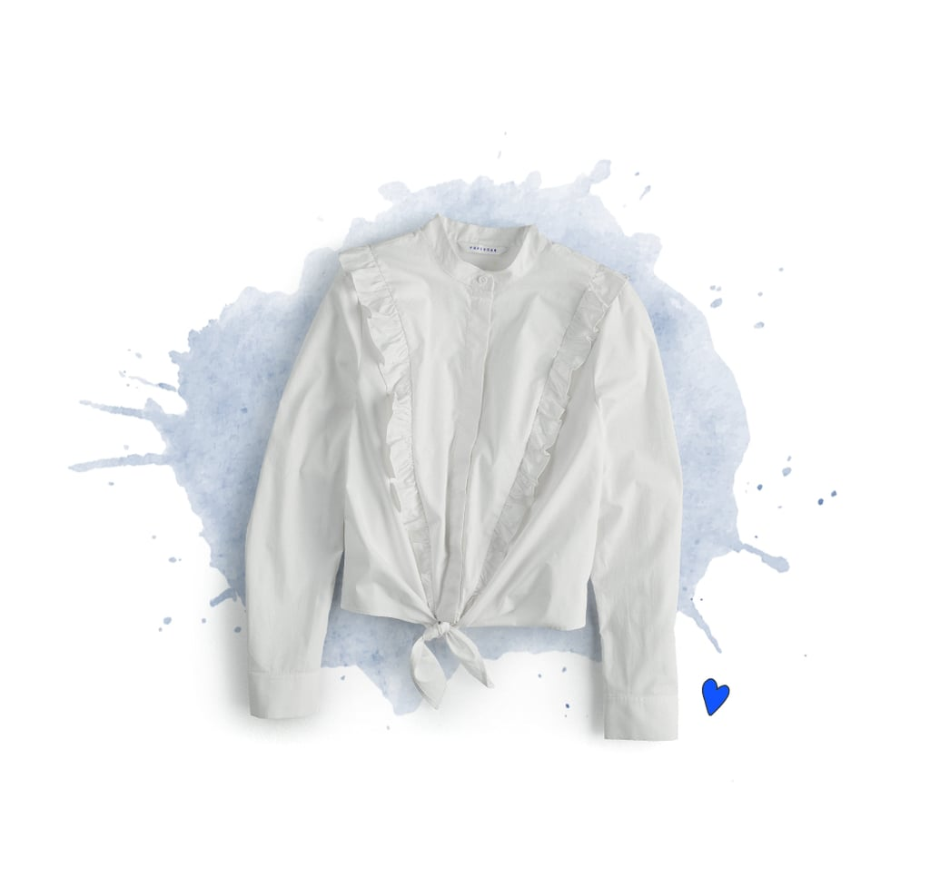 Flare-Sleeve Blouse