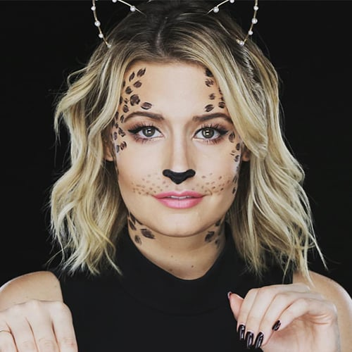 Halloween Costumes Using Eyeliner | Tutorial
