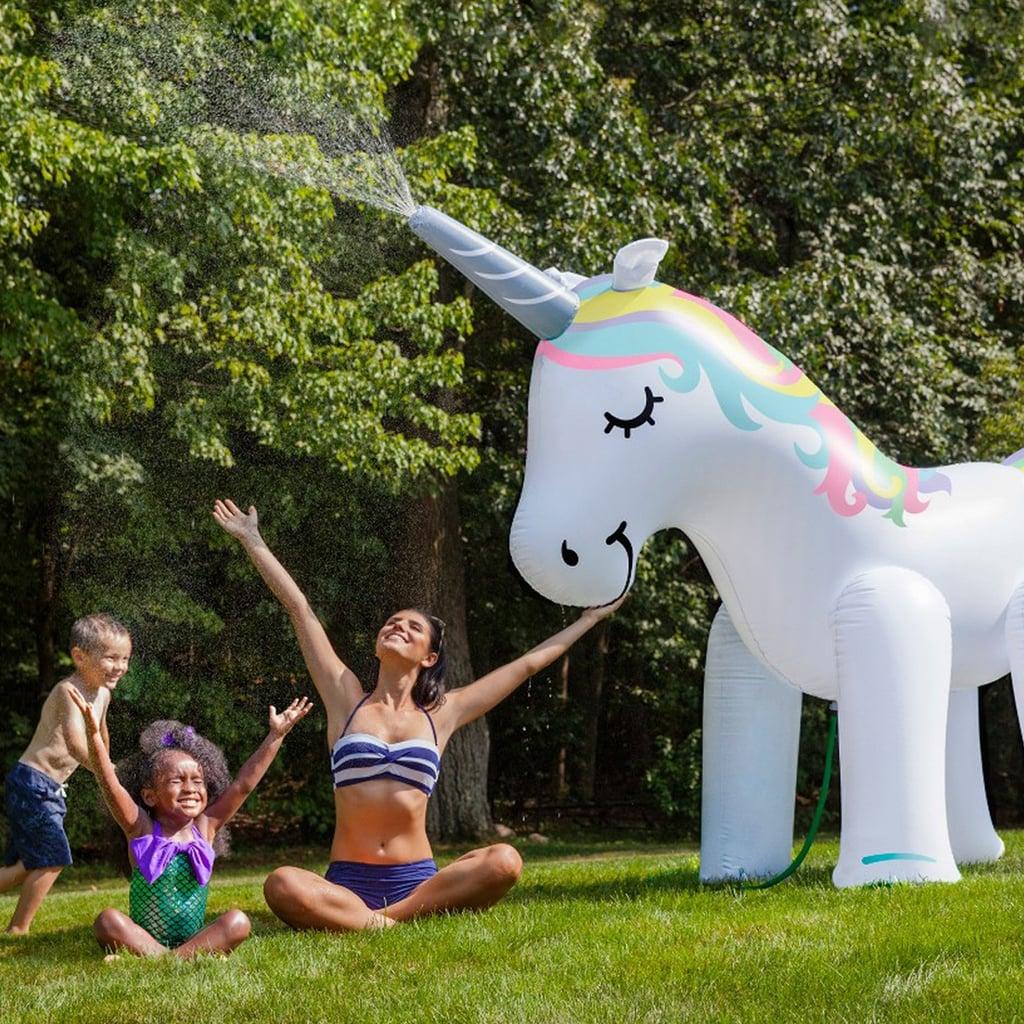Giant Backyard Games: Giant Unicorn Sprinkler