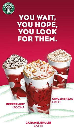 Share the Holiday Spirit With Starbucks