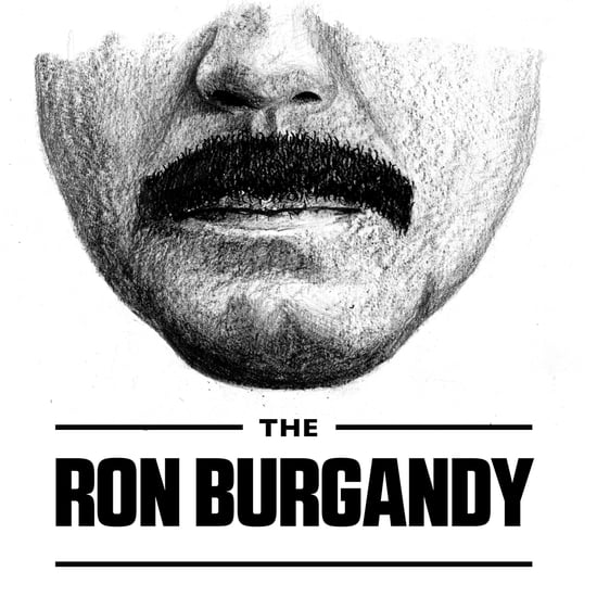 Ron Burgandy Borat  Famous Moustaches How To
