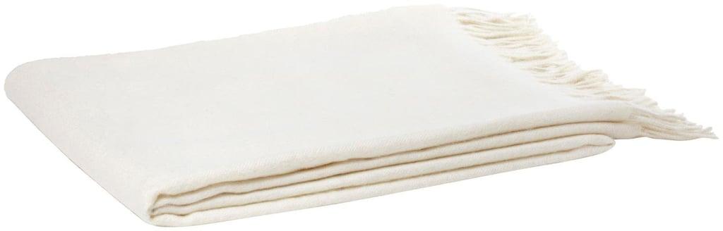 Alpaca Throw Blanket ($151)