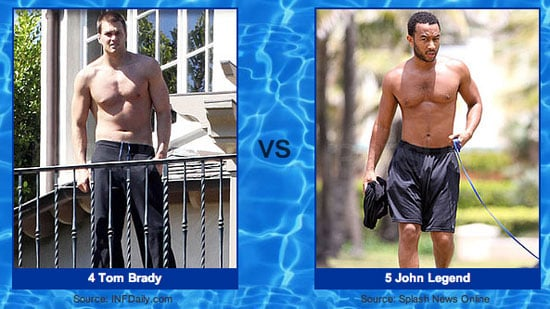 Cast Your Round Two Votes For Your Favorite Shirtless Guy!