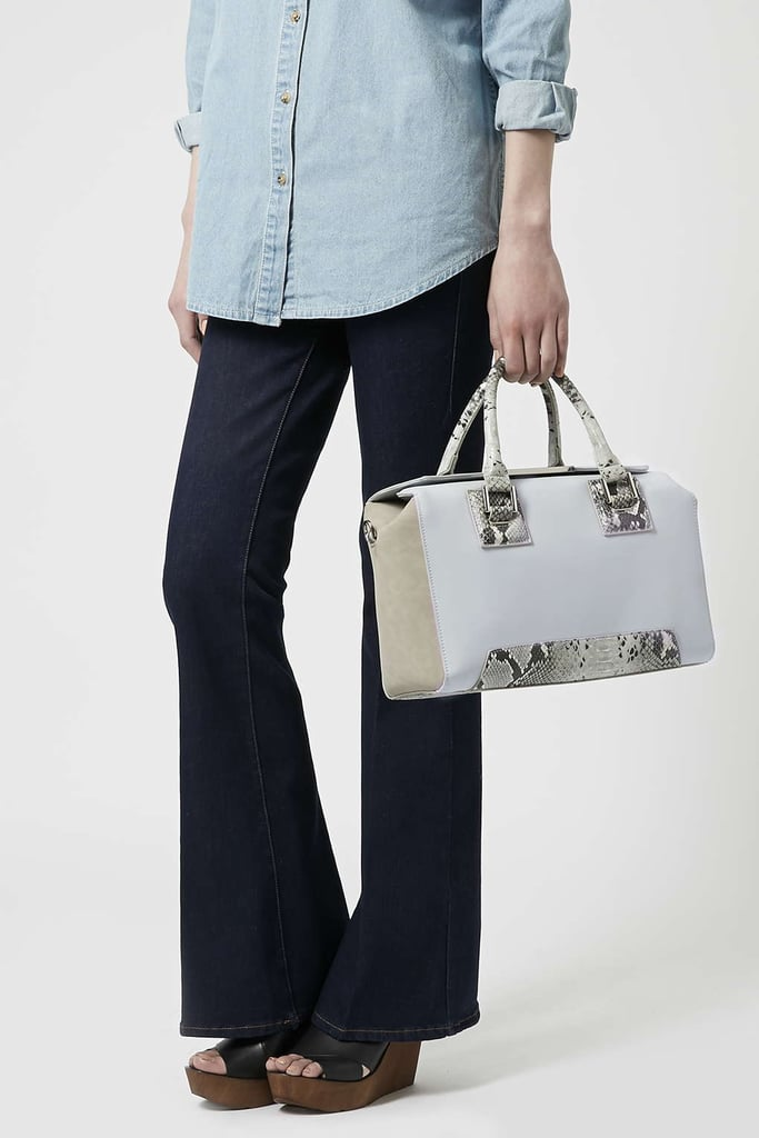 Topshop Foldover Top Holdall ($70)