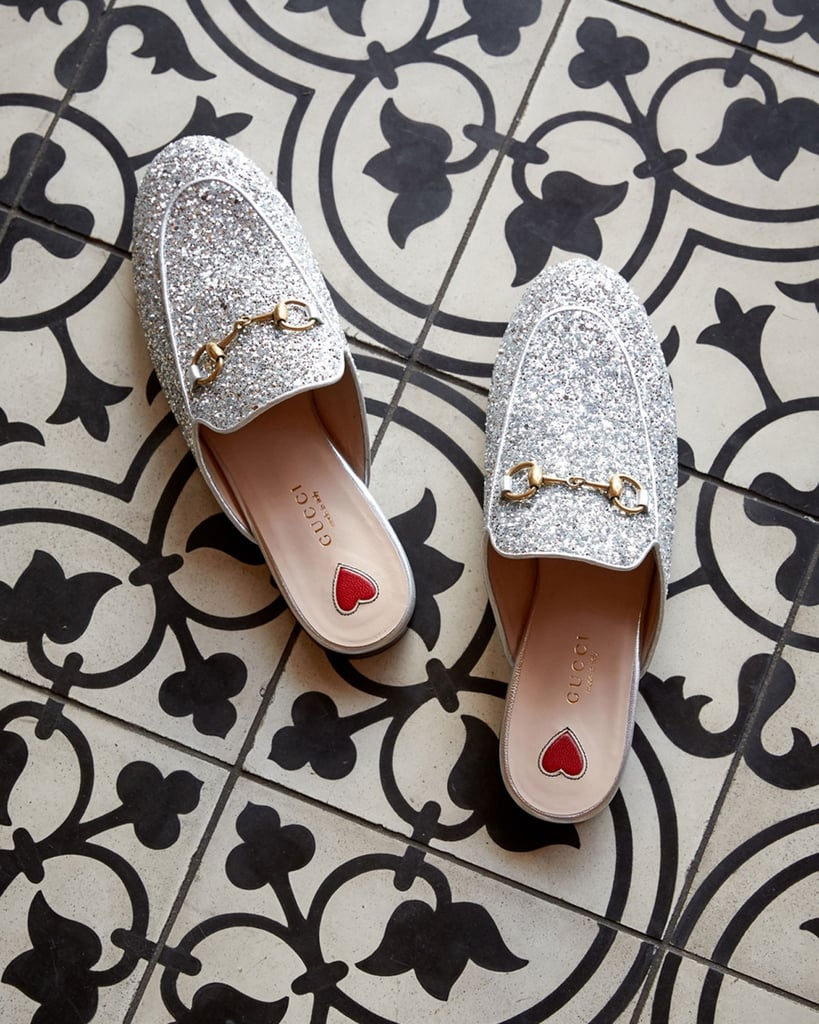 Toss Your Heels Aside: These 14 Glitter Flats Will Get You Through the Holidays Like a Pro