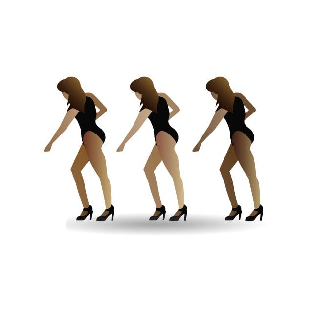Dancing Beyoncé