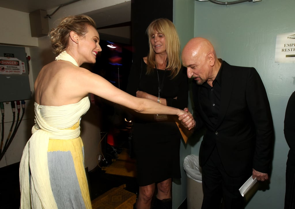 Diane Kruger and Ben Kingsley