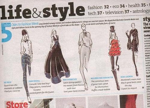 Canadian Fashion Haiku's For Now Magazine
