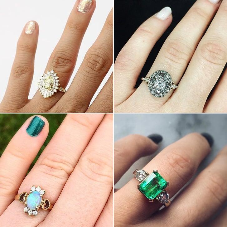 Best Vintage Engagement Rings