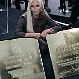 You know you've made it when your name lands on the Rodeo Drive Walk of Style, which Versace's did in 2007.