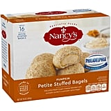 Nancy's Petite Stuffed Bagels ($6)