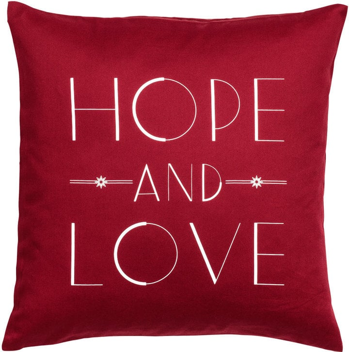 Text-Print Cushion Cover ($6)