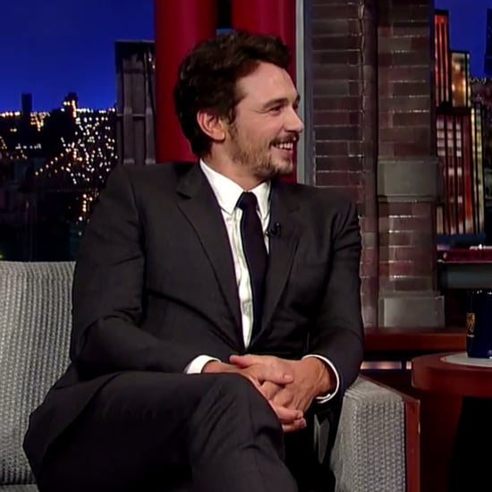 James Franco on Letterman, May 2014 | Video